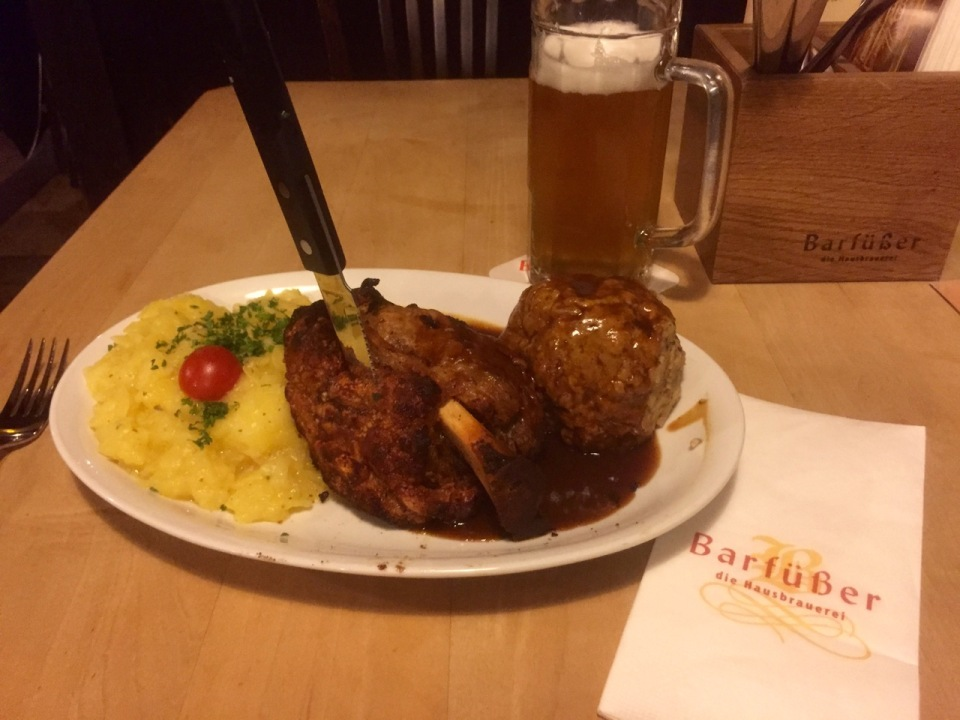 Dinner at Barfuber, Ulm