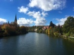 Sunshine comes out in Rotttenburg