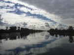 Crossing the Rhein at Kehl, to Strasbourg and France