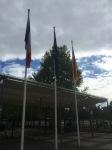 Border crossing unmanned, Jardin des deux Rives, Strasbourg