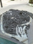 Model of the old city of Strasbourg