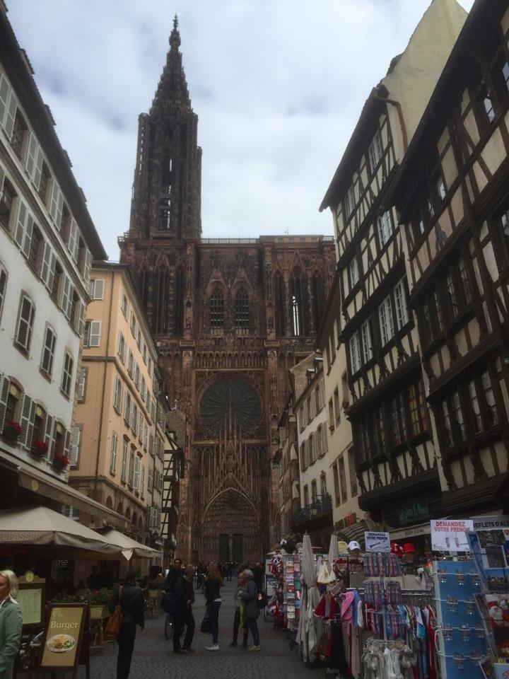 Strasbourg Cathedral, Alsace, France