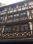 Lovely old buildings, all a bit wonky, Strasbourg