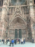 Strasbourg Cathedral doors
