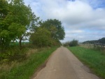 Cycling down small C roads in Lorraine