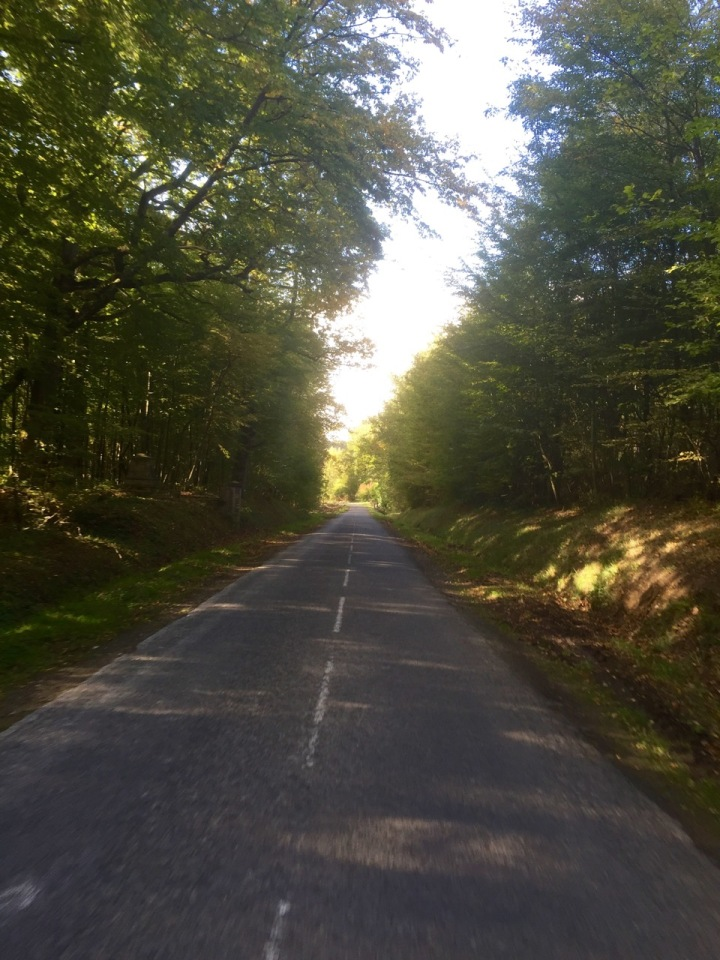 At least the diversion lead to some picturesque roads