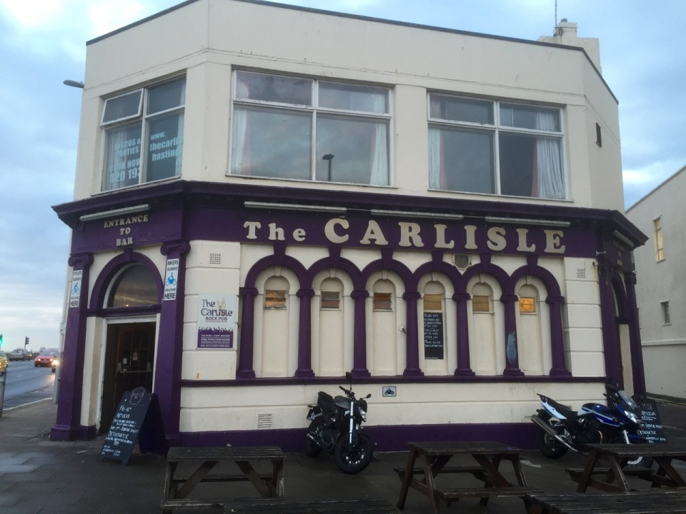 Carlisle Pub, Hastings - used to drink there in my youth