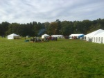 Yestival set up, fab
