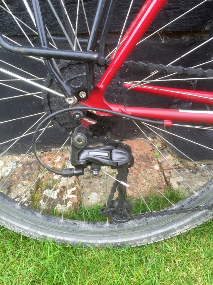 Cassette and chain upon return to UK, replacements required
