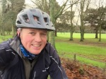 January cycling selfie