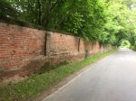 Sturdy wall in Mulbarton - good for keeping the trolls out