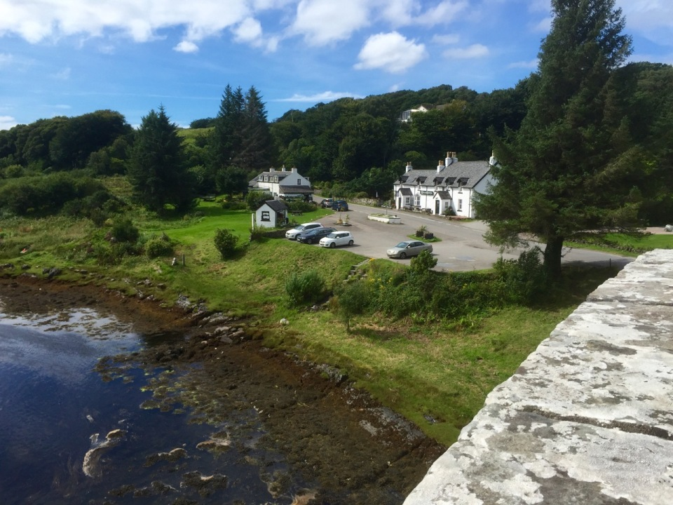 Tigh-An-Truish Inn from the Bridge