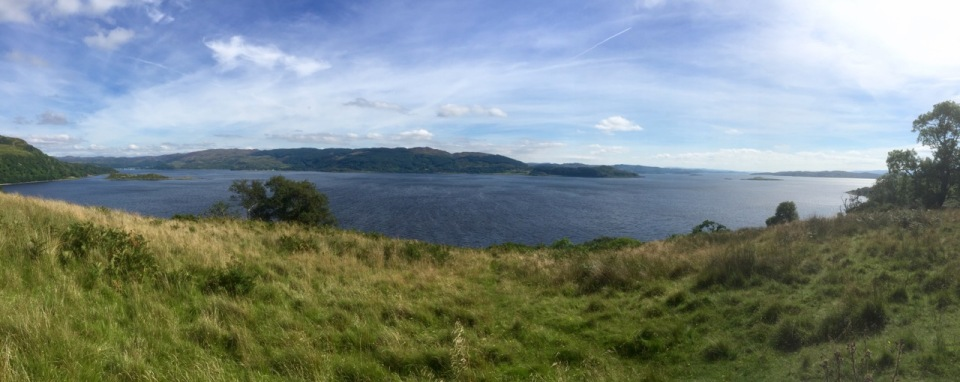 Loch Melfort - a perfect panorama