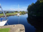 The Crinan Canal - Ardrishaig at the other end