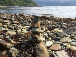 Mussel Bay - stone tower