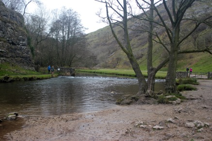 The River Dove - tad chilly for a dip