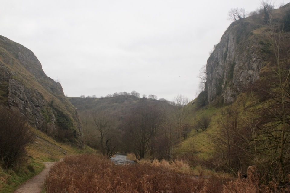 Entrance to Dovedale from the North