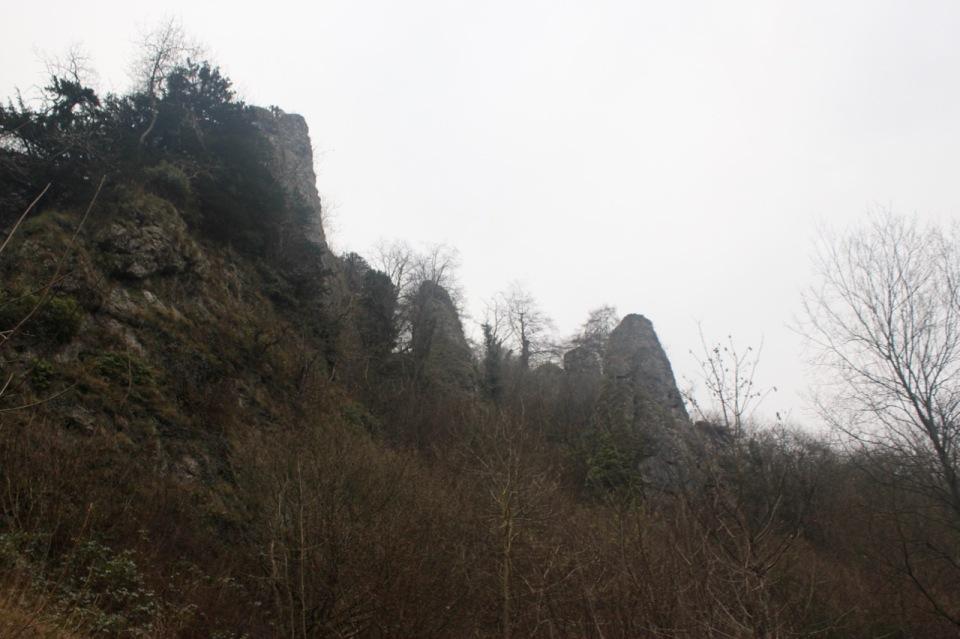 Rocky spires