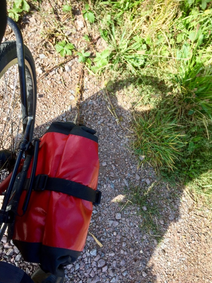Random accidentally front pannier picture