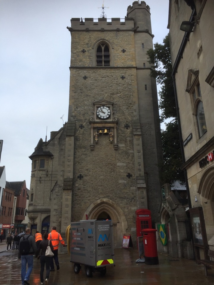 Oxford, still raining