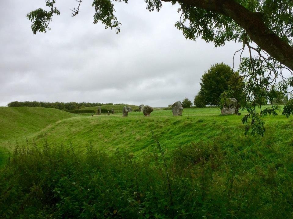 Avebury - stones and ditch