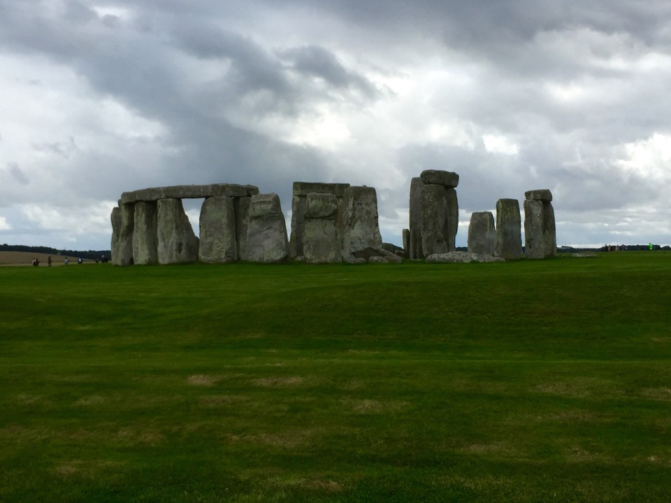 Stonehenge 1 - amazing how they must have rolled all these stones here