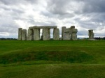 Stonehenge 2 - not sure how they got the lintel stones in place