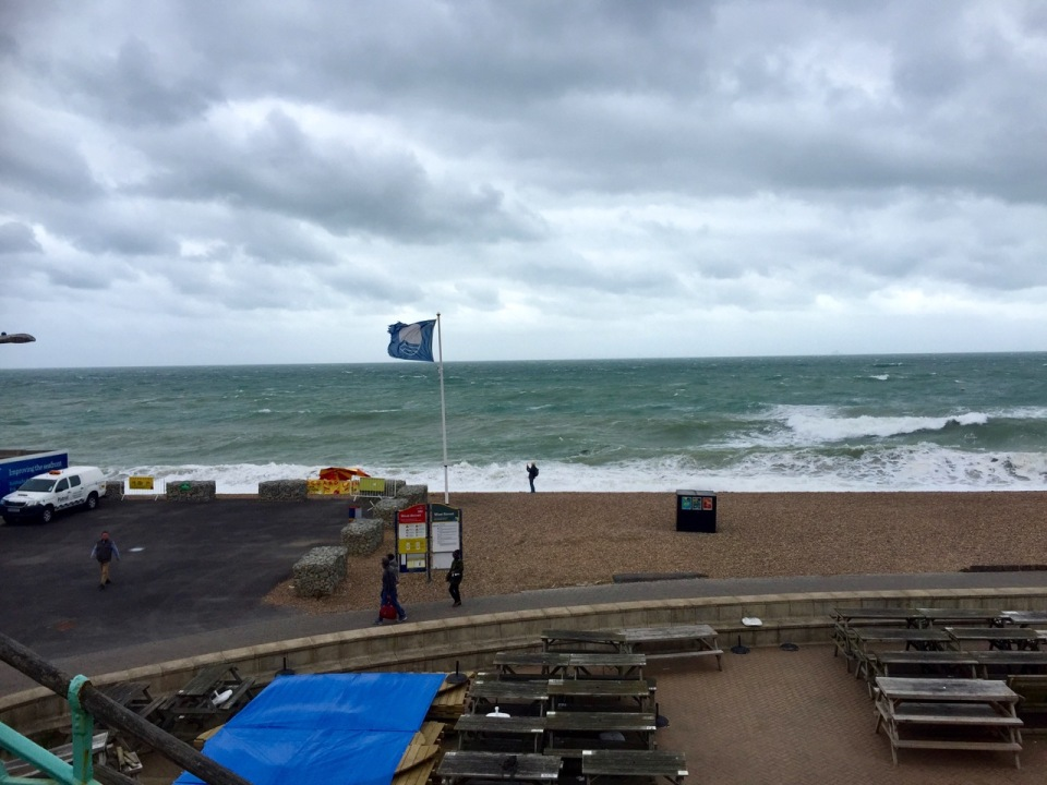 Brighton - big waves