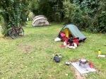 Campsite at Kelvedon Hatch