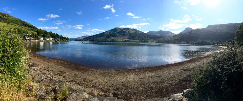 View across the bay from Lochgoilhead