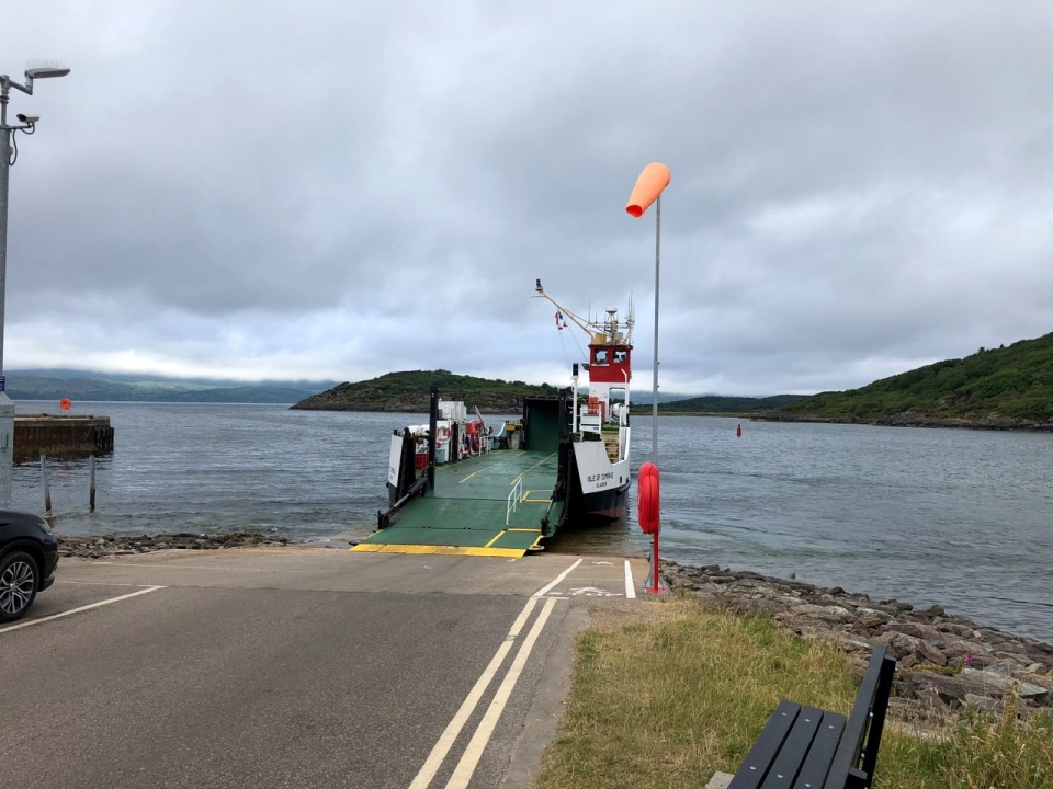 The ferry to Tarbert
