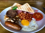 Fry up in Tarbert