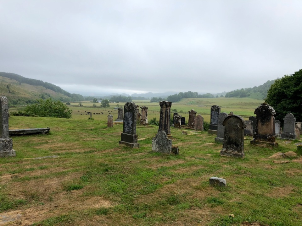 Kilmartin Church graveyard