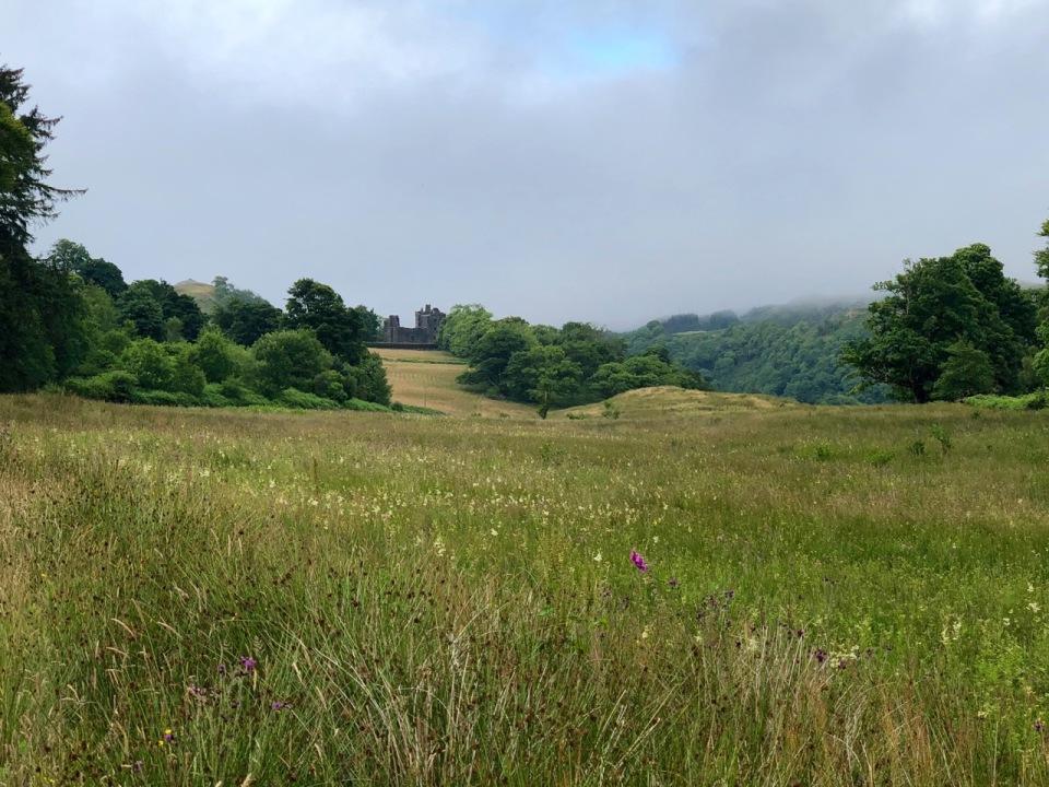 Approaching Carnasserie Castle