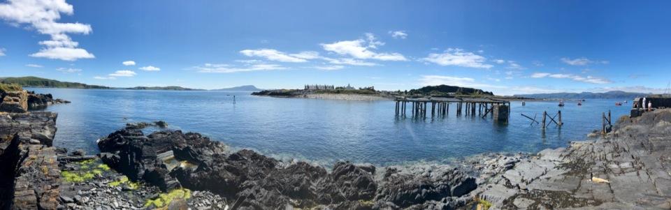 Easdale - old pier