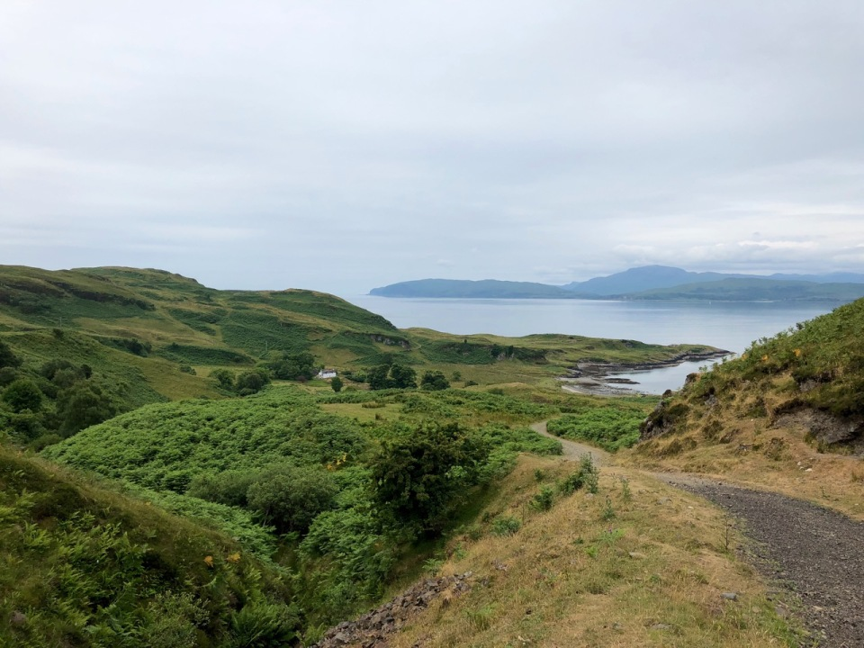 Walking round Kerrera