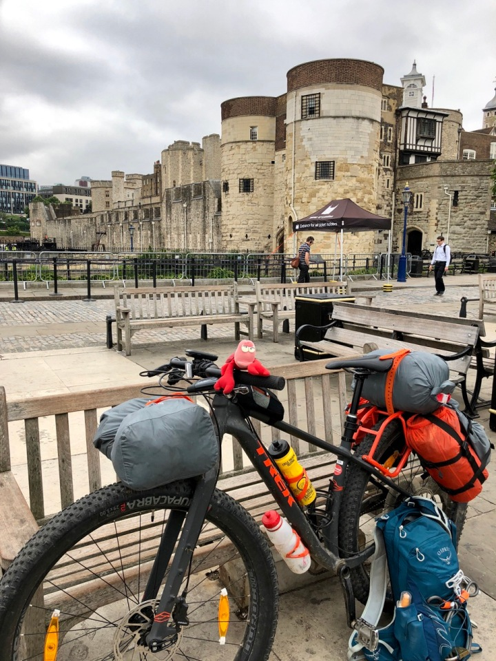 Travelling Lobster at the Tower of London