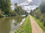 Taking the canal path into central London - traffic free!