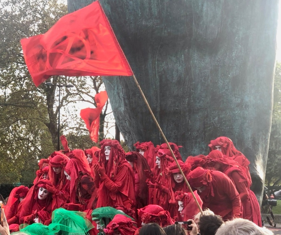 Red Brigade at Marble Arch