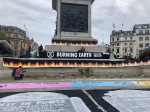 Trafalgar Square - Burning Earth Site
