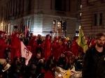 Red Brigade make an appearance as the roadblocks fall