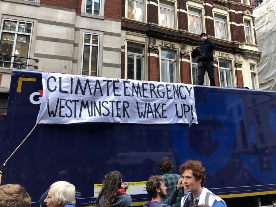 Climate Emergency - Westminster Wake Up