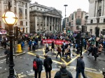 Bank Junction occupied by Rebels