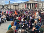 Talks and Peoples' Assembly in Trafalgar Square