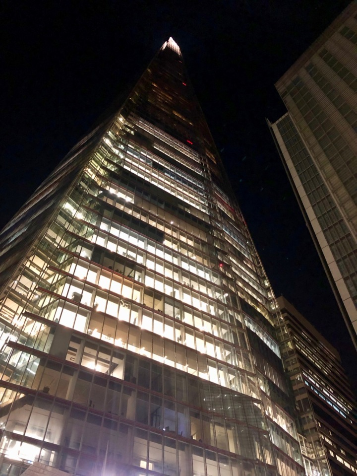 The Shard - site of Rupert Murdoch's media empire