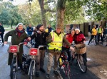 Norwich rebels gather in Hyde Park