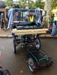 Awesome rickshaw with huge sound system, we need one!