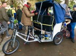 Rickshaw - want one for Norwich critical mass bike rides