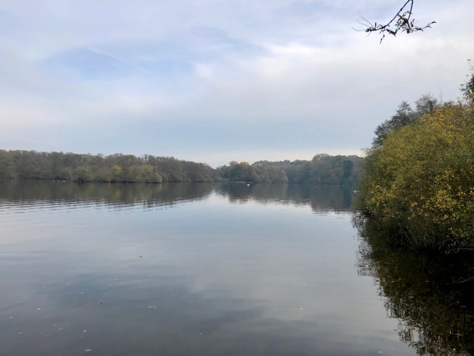 Salhouse Broad - still the odd boat about