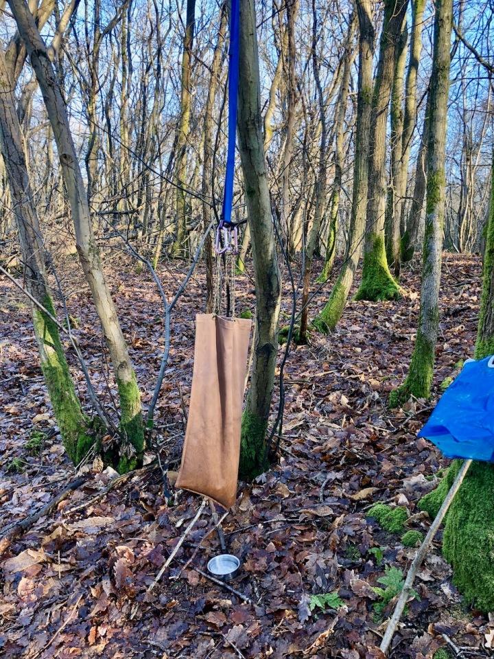 Millbank bag and sling set up